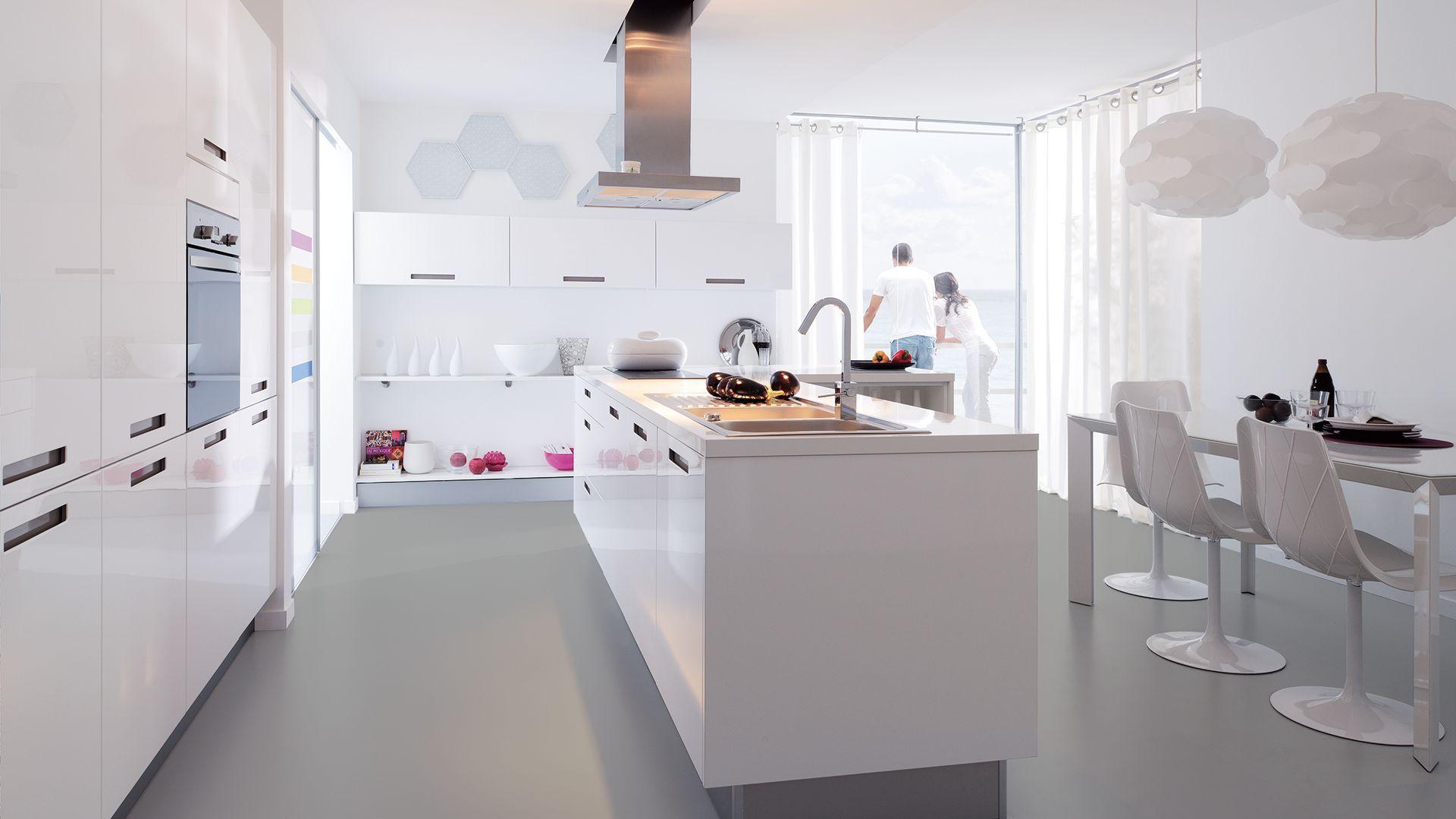 Modele de cuisine cuisinella gallery of ilot cuisine en for Cuisinella paris 11