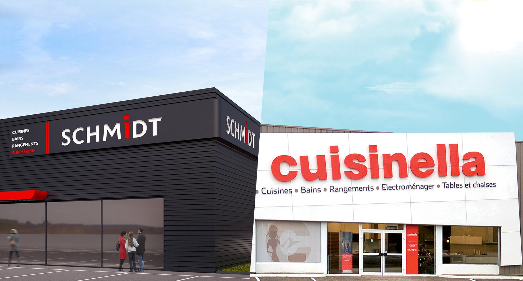 Une nouvelle enseigne schmidt a paris schmidt groupe for Cuisinella paris 11