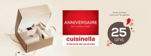 Cuisinella fête ses 25 ans…
