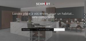 Un nouveau site web pour la marque SCHMIDT !