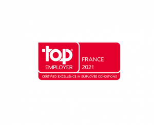 Certifié Top Employer 2021 !